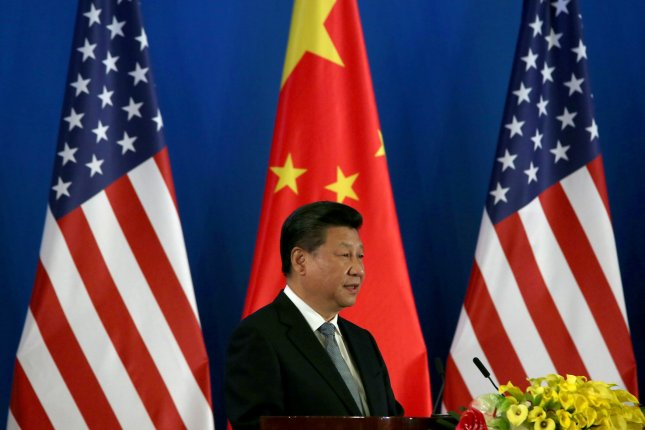 Chinese President Xi Jinping has made an ongoing anti-corruption campaign his signature domestic policy. Critics of the president suggest the campaign has served to purge the Communist Party of Xi's political enemies. Photo by Stephen Shaver/UPI