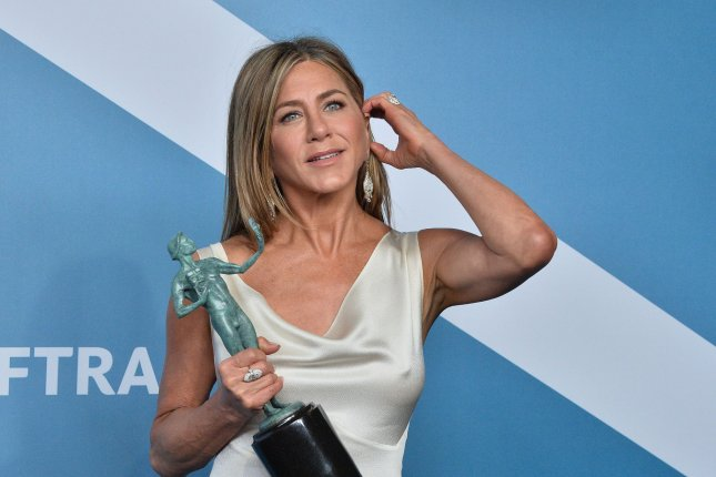 Jennifer Aniston will join her Friends costars in a reunion special for HBO Max. File Photo by Jim Ruymen/UPI