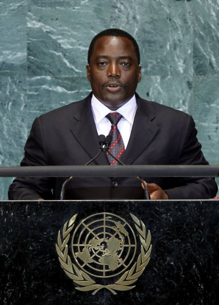 Democratic Republic of Congo President Joseph Kabila appears headed for re-election with most of the votes counted, election officials said. UPI/John Angelillo