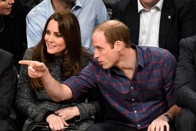 Kate Middleton And Prince William Pose For Family Ski