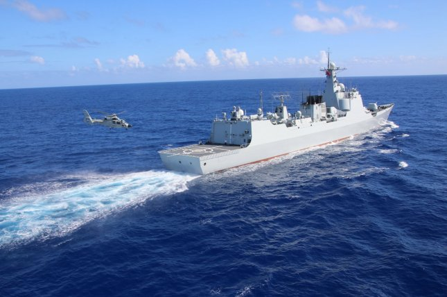 The Pentagon announced Navy officials are keeping eye on a Chinese spy ship that arrived Wednesday off the coast of Hawaii in international waters where 25 nations are participating in RIMPAC, a major international naval warfare exercise that China was disinvited from in May. Photo by PLA Navy/UPI