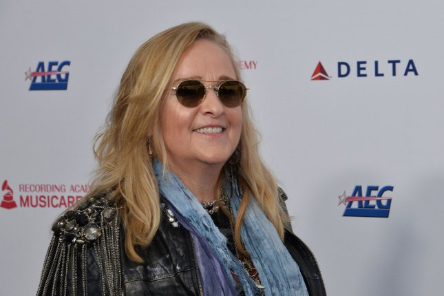 Melissa Etheridge arrives for the MusiCares Person of the Year gala honoring Aerosmith at the Los Angeles Convention Center in Los Angeles on January 24. The singer-songwriter turns 59 on May 29. File Photo by Jim Ruymen/UPI