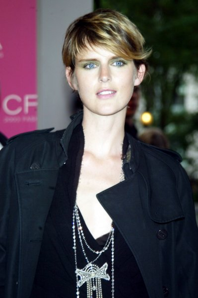 Stella Tennant, pictured in 2003, died suddenly at age 50 this week. File Photo by Laura Cavanaugh/UPI