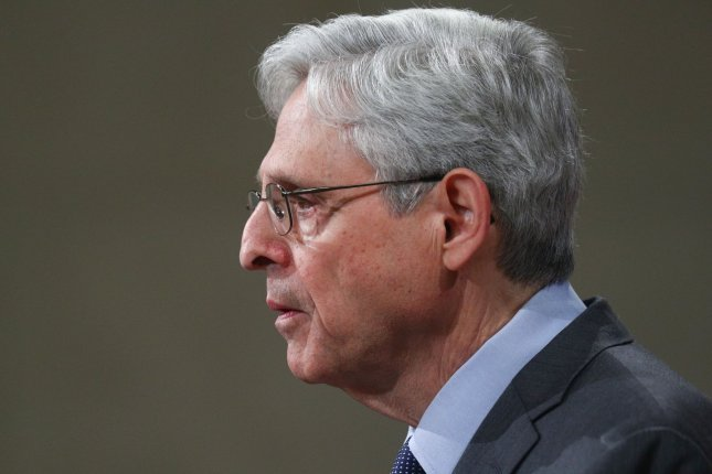 U.S. Attorney General Merrick Garland directed the Justice Department to stop seizing records from journalists engaged in lawful newsgathering activities. File photo by Tom Brenner/UPI/Pool