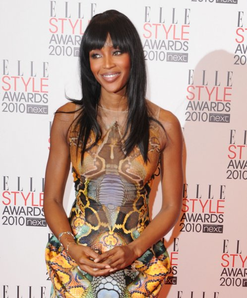 British model Naomi Campbell attends the Elle Style Awards at the Grand Connaught Rooms in London on February 22, 2010. UPI/Rune Hellestad
