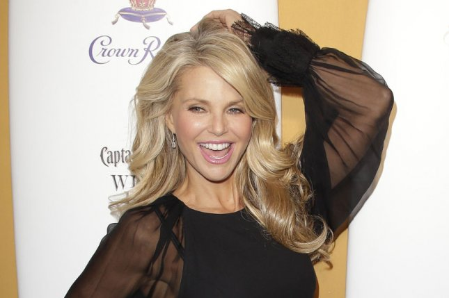 Christie Brinkley was injured trying to save a bird while on vacation. File photo by John Angelillo/UPI