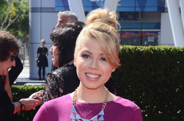 Jennette McCurdy at the Primetime Emmy Awards on September 15, 2013. The actress announced 'Between' was renewed for a second season this week. File photo by Jim Ruymen/UPI