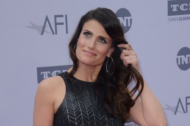Actress Idina Menzel -- who will soon star in a re-make of Beaches -- attends American Film Institute's 44th Life Achievement Award gala tribute to composer John Williams in Los Angeles on June 9, 2016. File Photo by Jim Ruymen/UPI