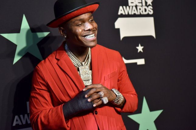 Rapper DaBaby's Kirk is the No. 1 album in the United States this week. File Photo by Chris Chew/UPI