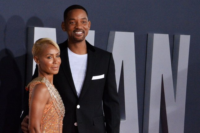 Jada Pinkett Smith (L) and Will Smith discussed their past marital problems on Friday's Red Table Talk show. File Photo by Jim Ruymen/UPI