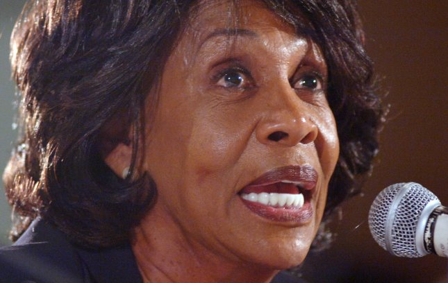 Six members of the U.S. House panel investigating the ethics case against Rep. Maxine Waters, D-Calif., quit Friday to avoid an appearance of unfairness. 2006 file photo. (UPI Photo/Jim Ruymen)