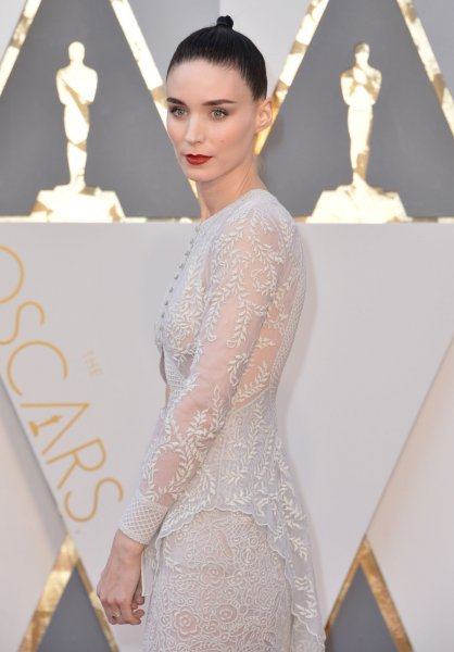 Rooney Mara at the Academy Awards on Sunday. Photo by Kevin Dietsch/UPI