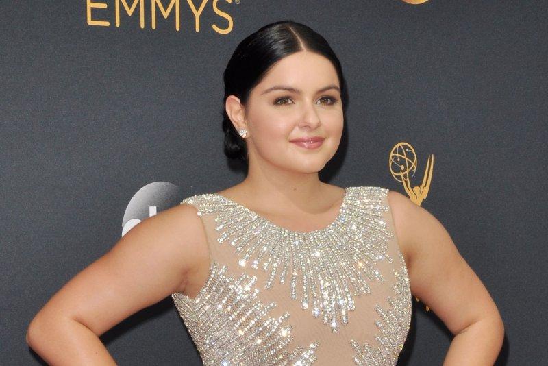 Ariel Winter at the Primetime Emmy Awards on Sunday. Photo by Christine Chew/UPI