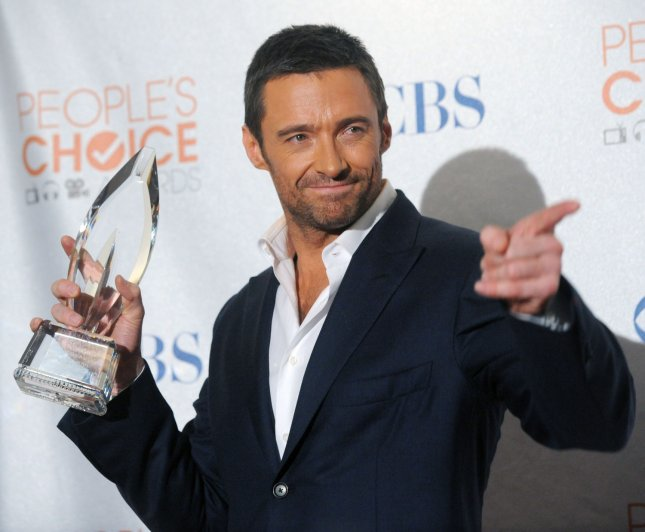 Australian actor Hugh Jackman, winner of the Favorite Action Star Award appears backstage at the 2010 People's Choice Awards in Los Angeles on January 6, 2010. File Photo by Jim Ruymen/UPI