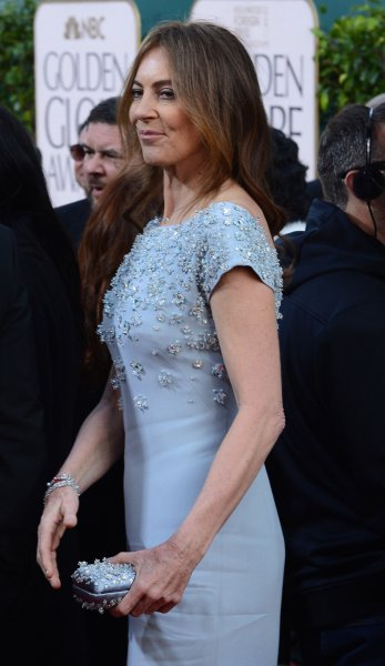 Director Kathryn Bigelow arrives for the 70th annual Golden Globe Awards held at the Beverly Hilton Hotel in Beverly Hills, California on on January 13, 2013. UPI/Jim Ruymen