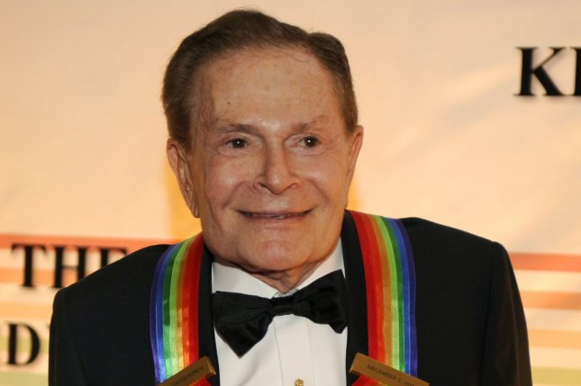 Composer and lyricist Jerry Herman, a 2010 Kennedy Center Honoree, has died at the age of 88. File Photo by Mike Theiler/UPI