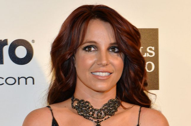 Britney Spears twisted her ankle in concert Wednesday. File photo by Christine Chew/UPI