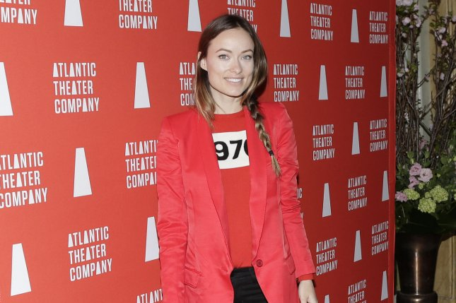 Olivia Wilde arrives on the red carpet at the 2016 Atlantic Theater Company Actors Choice Gala on March 7, 2016. Wilde appeared on The Howard Stern Show recently revealing that studio heads labeled her too old for a role in Wolf of Wall Street. File Photo by John Angelillo/UPI