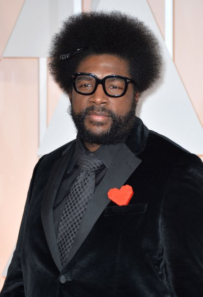 Questlove arrives on the red carpet at the 87th Academy Awards on February 22, 2015. File Photo by Kevin Dietsch/UPI