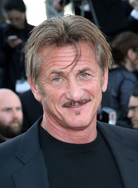 Sean Penn at the Cannes International Film Festival of The Last Face on May 20. File Photo by David Silpa/UPI