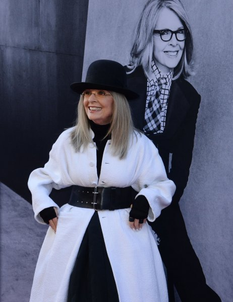 Honoree Diane Keaton arrives for American Film Institute's 45th annual Life Achievement Award tribute gala at the Dolby Theatre in the Hollywood section of Los Angeles on June 8, 2017. Hollywood stars including Woody Allen, Jane Fonda, Rachel McAdams and others were present to honor Keaton for her achievement.  Photo by Jim Ruymen/UPI