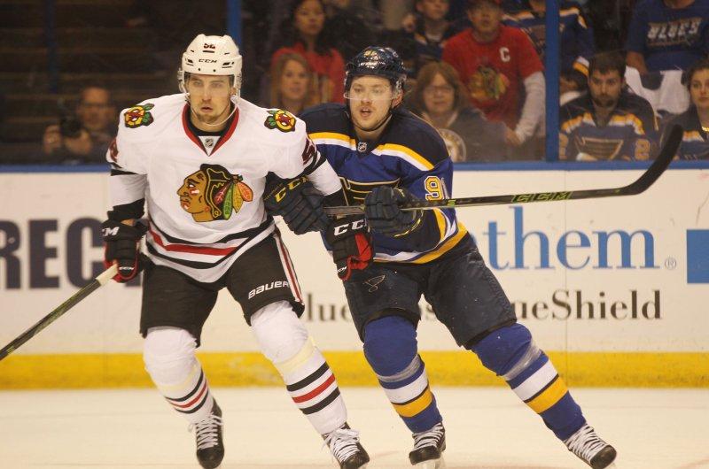 new product 63ec4 37329 NHL: Chicago Blackhawks sign Erik Gustafsson - UPI.com
