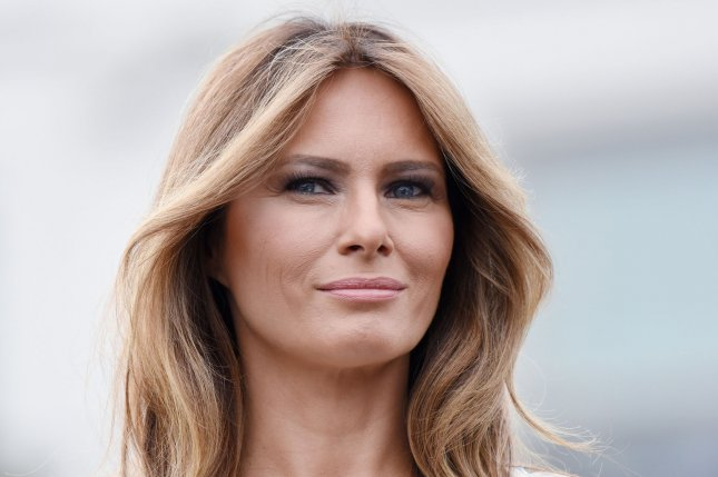 Melania Trump will lead the U.S. delegation to the 2017 Invictus Games in Toronto in September -- her first solo trip as first lady. File Photo by Olivier Douliery/UPI