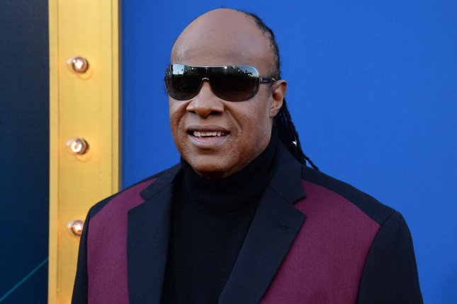 Stevie Wonder attends the premiere of the animated comedy Sing on December 3. Wonder is set to perform at the upcoming Global Citizen Festival alongside Green Day, The Killers and others. File Photo by Jim Ruymen/UPI
