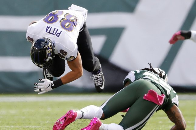 TE Pitta re-injures hip at Ravens practice