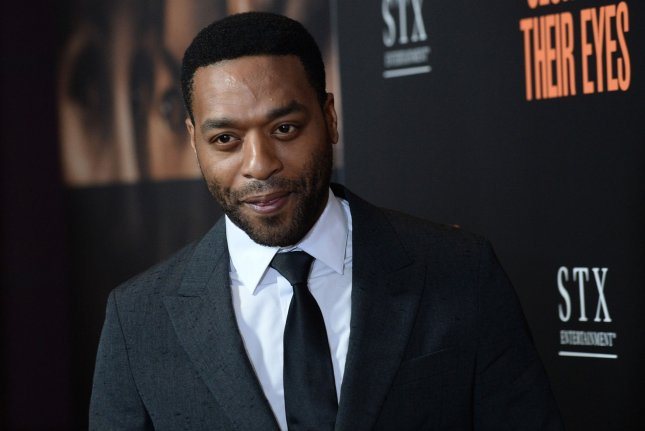Chiwetel Ejiofor attends the premiere of Secret In Their Eyes on November 11, 2015. Ejifor may potentially star in Disney's upcoming Lion King remake. File Photo by Jim Ruymen/UPI