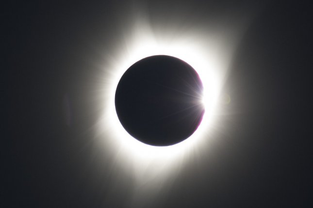 Scientists reported in a study published this week that the eclipse in August caused waves in the earth's upper atmosphere, a phenomenon thought to exist but that had not been observed before. File photo by Pat Benic/UPI