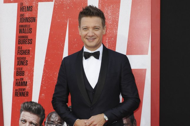 Jeremy Renner appeared on Jimmy Kimmel Live to promote his next film, Avengers: Endgame. File Photo by Patrick Rideaux/UPI