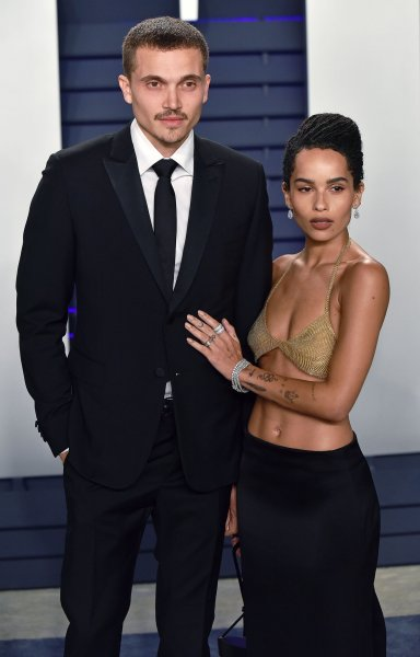 Actress Zoe Kravitz and actor Karl Glusman exchanged wedding vows in France this weekend. File Photo by Christine Chew/UPI