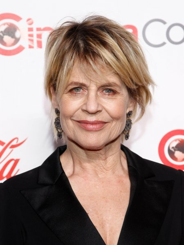 'Terminator: Dark Fate' star Linda Hamilton arrives for the CinemaCon Big Screen Achievement Awards 2019 in Las Vegas on April 4. File Photo by James Atoa/UPI