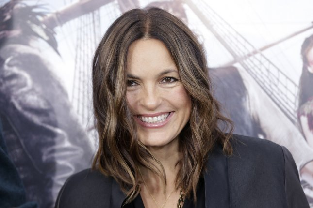 Mariska Hargitay arrives on the red carpet for the premiere of Pan at the Ziegfeld Theater on October 4, 2015, in New York City. The actor turns 56 on January 23. File Photo by John Angelillo/UPI