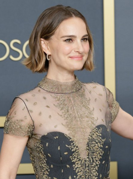Natalie Portman, winner of the Adapted Screenplay award for Jojo Rabbit, appears backstage with her Oscar during the 92nd annual Academy Awards at Loews Hollywood Hotel in Los Angeles on February 9, 2020. The actor turns 40 on June 9. File Photo by John Angelillo/UPI