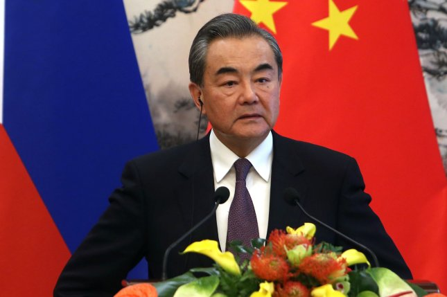 China's Foreign Minister Wang Yi is to host a face-to-face meeting with top diplomats of ASEAN member states this week, according to Beijing. File Photo by Stephen Shaver/UPI