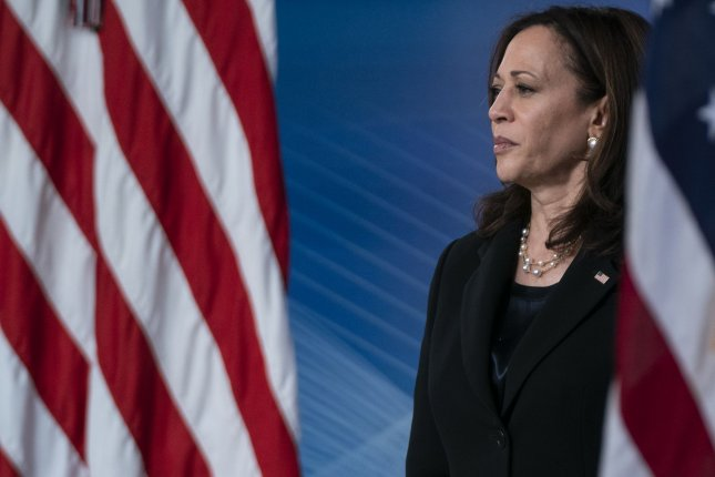 Vice President Kamala Harris, pictured at the White House in Washington, D.C., on June 3, said Tuesday she's in Mexicoto renew our nation's important partnership with its neighbor to the south.Photo by Alex Edelman/UPI