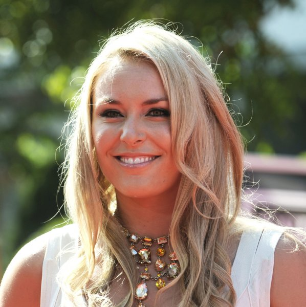 US Olympic Skier Lindsey Vonn arrives for the ESPY Awards at Nokia Theatre in Los Angeles on July 11, 2012. UPI/Phil McCarten
