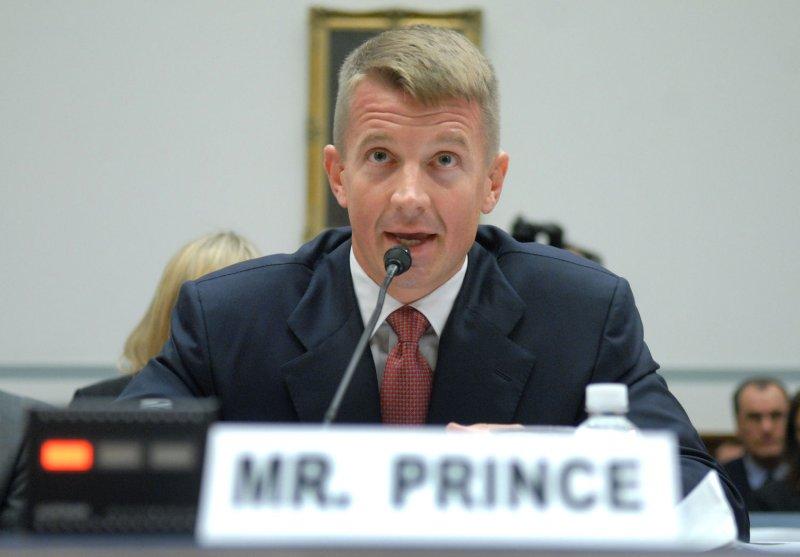 Erik Prince (UPI Photo/Kevin Dietsch)