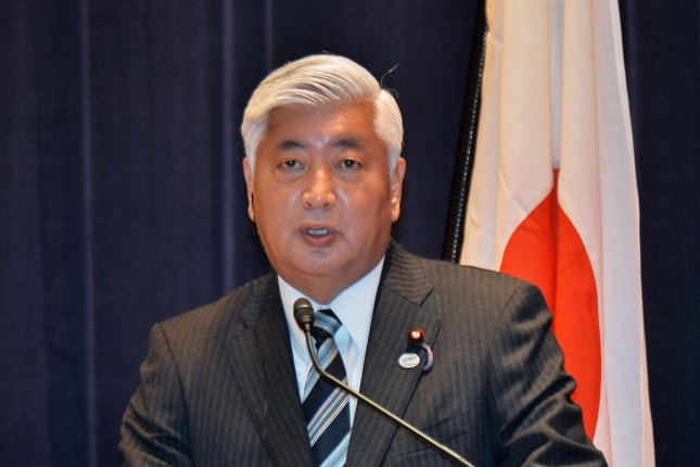 Japan's Minister of Defense, Gen Nakatani, told Japan press the probability is low North Korea tested a hydrogen bomb. Photo by Keizo Mori/UPI