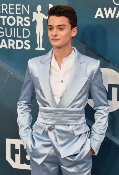 Stranger Things star Noah Schnapp can be seen in the World War II drama Waiting for Anya in theaters and on video-on-demand platforms Friday. File Photo by Jim Ruymen/UPI