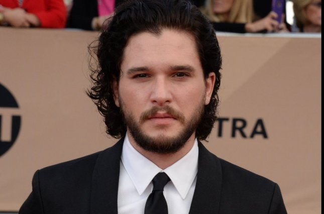 Actor Kit Harrington attends the Screen Actors Guild Awards in Los Angeles in 2016. Harington's new miniseries Gunpowder debuts Oct. 21. File Photo by Jim Ruymen/UPI