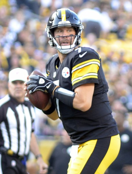 Ben Roethlisberger and the Pittsburgh Steelers pay a visit to the Indianapolis Colts on Sunday. Photo by Archie Carpenter/UPI