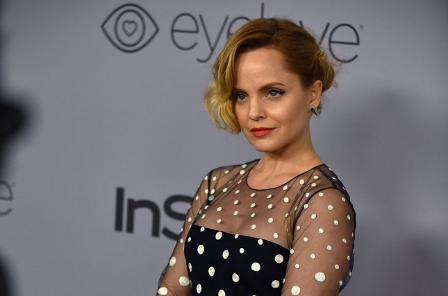 Mena Suvari attends the 19th annual InStyle and Warner Brothers Golden Globes After-Party at the Beverly Hilton in Beverly Hills, Calif., on January 7. The actor turns 39 on February 13. File Photo by Christine Chew/UPI