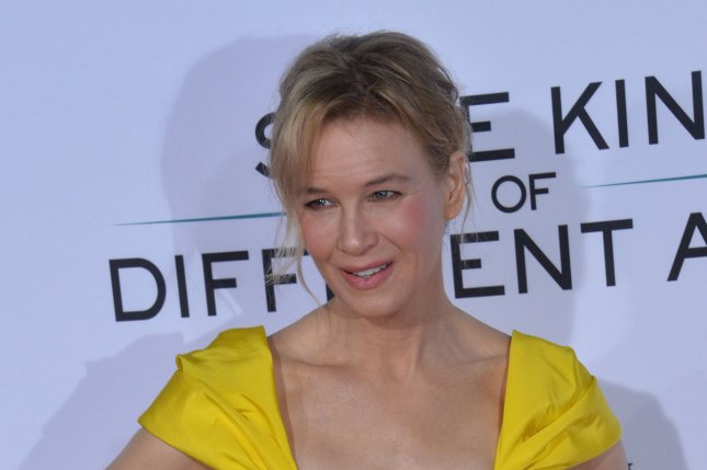 Renee Zellweger attends the premiere of Same Kind of Different as Me at the Westwood Village Theatre in Los Angeles on October 12. The actor turns 49 on April 25. File Photo by Jim Ruymen/UPI