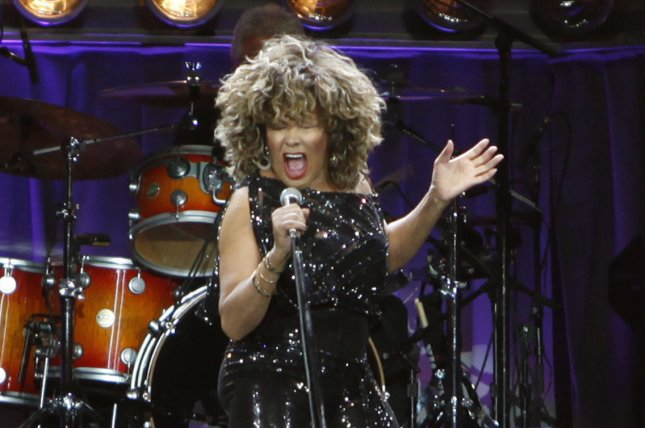 Singer Tina Turner performs in concert at Bercy in Paris on April 29, 2009. She turns 80 on November 26. File Photo by David Silpa/UPI