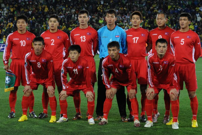 North Korea's football association said in a letter sent Friday to the Asian Football Confederation that it will not send the national team to South Korea for the 2022 World Cup qualifiers. File Photo by Chris Brunskill/UPI