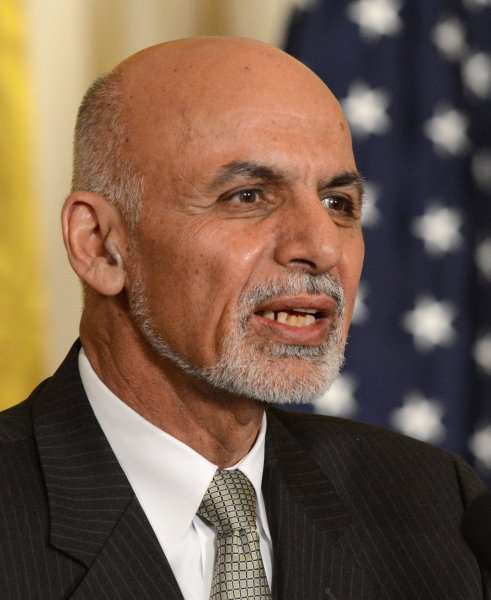 Afghanistan President Ashram Ghani promised to crack down on the practice of sexual abuse of boys in his country after U.S. troops claimed they were ordered to keep silent about the practice.. Photo by Pat Benic/UPI