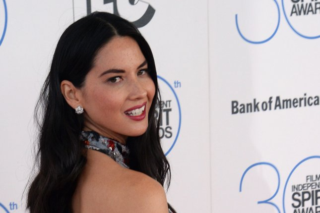 Actress Olivia Munn attends the 30th annual Film Independent Spirit Awards in Santa Monica on February 21, 2015. File Photo by Jim Ruymen/UPI